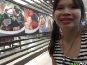 Hardcore anal POV fucking with petite Thai girl!