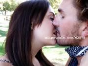 CM Kissing in the Park