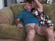 Old granny mother and amateur spanish milf first time Frannki