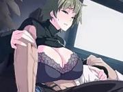 Anime Big Boobs Horny Milf Giving Big Dick Blowjob