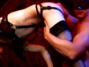Transsexual Slut Giving A Sensual Blowjob To Her Boyfriend