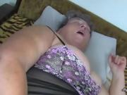 Fat Granny Is Fucked With A Toy
