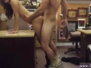 Blonde cumshot College Student Banged in my pawn shop!
