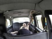 Bigtits Amber Jaynes fucks in the taxi
