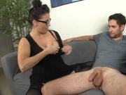 Milf Wants To Test Rumors On His Small Cumshot