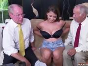 Old granny masterbation Ivy impresses with her phat hooters a