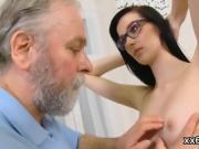 Lover assists with hymen examination and fucking of virgin sw