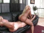 Hot ebony gets punished with hard fuck for her nastiness