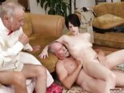 Cumshot tits and office anal creampie She a super-hot puny da