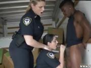 Blonde milf kitchen anal Black suspect taken on a tough ride