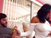 Ebony Hottie Jazzi Gets Humped By Neighbor
