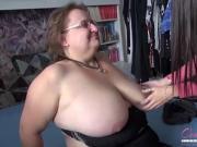 OmaHunteR hot Hardcore Mature Chubby Threesome