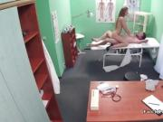 Nurse bangs patient while doctor is out