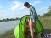 Skin diamond cum Eveline getting pulverized on camping site