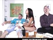 Hot Tiny Latina Teen Stepsister Fucked Hard By Her Brother