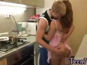 Mom catches teens in the act first time Hot pulverize before