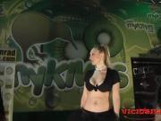 Magic erotic show with Daniela Evans & Arcangel SEM 2015