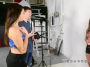 Hayden Hennessy photoshoot stripping