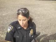 Fake cop cum inside and blonde milf big boobs threesome Break
