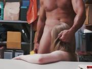 Shoplifter Dolly Leigh fucks for her freedom