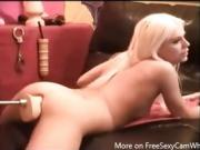Teen Ass Fucked By Sex Machine