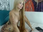 Perfect Big Boobs Camslut Enjoys Her Webcam Show