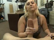 Huge ass lady screwed by pawnshop owner