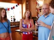 Kristen Lee in Independence Day with Stepbro Cock