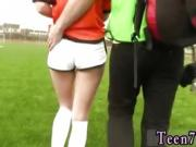 Blonde teen webcam squirt bed Dutch football player banged by