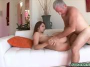 Stepdad fucks his flirty stepdaughter really hard