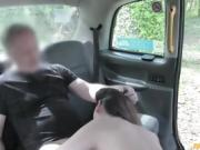 Horny Eva Johnson sucks and ass fuck with her driver John