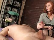 Mean Massage Lady Offers Cock Punishment