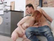 Teen Rita Blows Her Boyfriends Big Fat Cock
