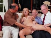 Teen Raylin Ann Gets Fondled By Businessmen