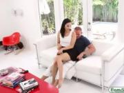Slutty Malina Mars banged by her stepdad