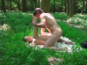 missionary sex outdoors