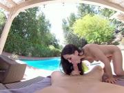 BaDoinkVRcom One On One Outdoor Sex Party With Alina Lopez