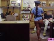 Police officer gets fucked in doggystyle
