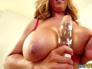 Japanese skank with massive titties toyed