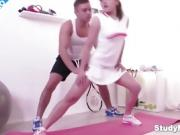 Doggystyle Fuck the Best Tennis Training