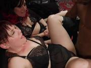 Pussy clamped slave anal fucked