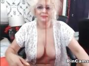 Granny with beautiful breast single