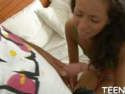 Awesome cock guarantees orgasm this teen has never had