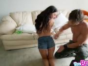 Deepthroating Latina Cameron Canela Canela Makes It Fit