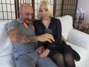 Casting Alla Italiana - Blonde newbie's anal during a casting