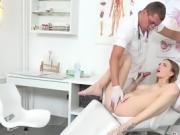 Hottie Belle Claire Gets Fingered By Her Doctor