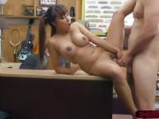 Hottie asian Tiffany rides Shawns cock