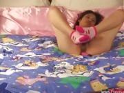 Asian girl with hairy pussy auditioned