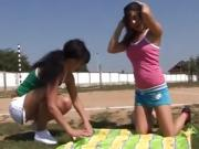 Perfect tiny teen and lesbian strapon teacher xxx Sporty teen
