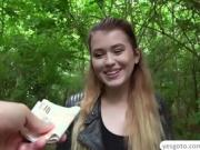Euro Misha Cross fucks a stranger for the right price